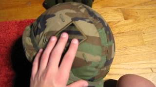 My military head gear and hat wear