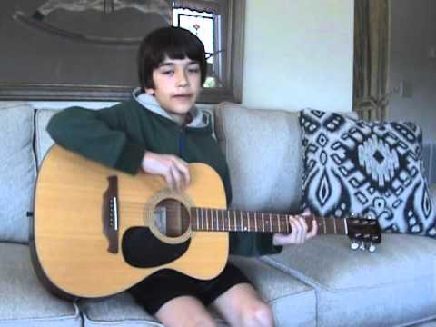 Ode to Joy lyrics and music on guitar