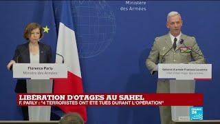 REPLAY - Otages libérés au Sahel : conférence de presse au ministère des Armées