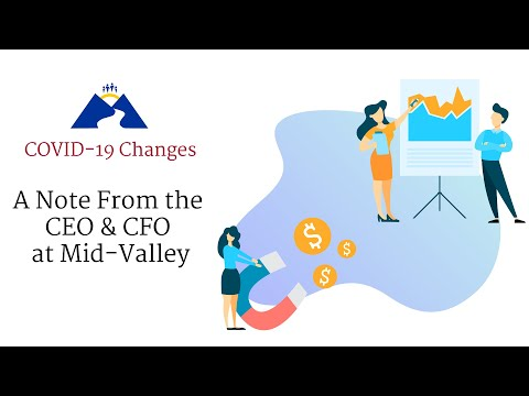 Mid-Valley Hospital CEO/CFO Update, COVID19