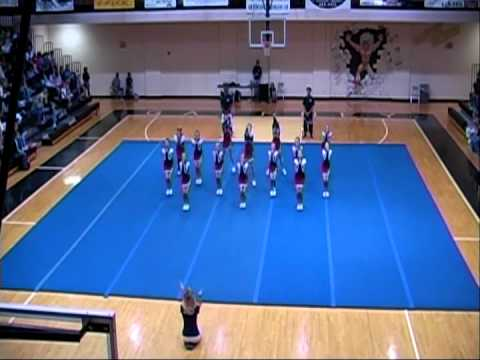 Spartanburg Christian Academy Competition Cheerleading 2008