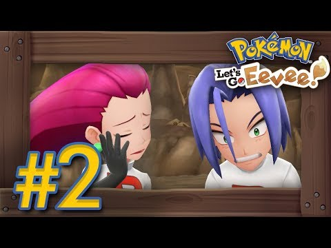 Pokémon Lets Go Pikachu & Eevee: Walkthrough Part 2  Mt Moon & First Team Rocket Battle