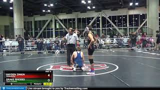 Middle School 97 Drake Rhodes Team Champs Vs Hayden Zinkin Darkhorse