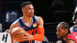 Toronto Raptors vs Oklahoma City Thunder - Full Highlights | March 20, 2019 | 2018-19 NBA Season