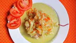 Жаркое из курицы в овощном рагу рецепт
