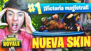 SUPER VICTORY WITH THE NEW LEGENDARY SKIN OF FORTNITE: Battle Royale!! - Agustin51