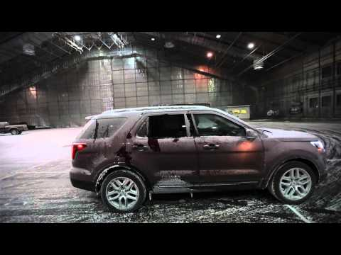 Ford tests vehicles at McKinley Climatic Lab