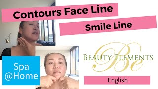 Contouring Face line & Reduce Smile line!