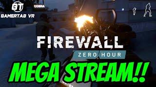 Firewall Zero Hour Mega Stream | PSVR Gameplay Review