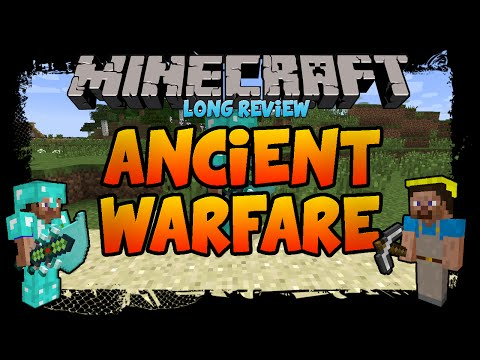 Ancient Warfare Mod [1.7.10] - Detailed Review