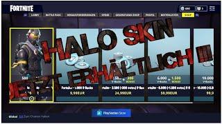 Halo peau à Fortnite maintenant disponible 😱