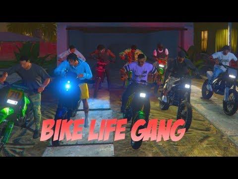BIKE LIFE GANG WAR (GTA 5 RP)