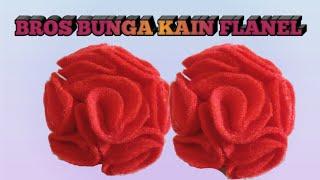 Kain flanel bisa digunakan untuk membuat bermacam-macam kreasi,salah satunya adalah bros sebagai pemanis hijab. alat yang saya gunakan dar...