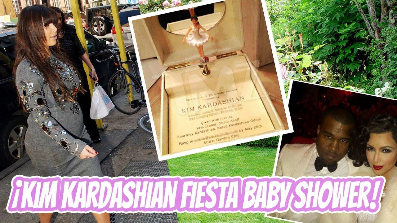 Kim Kardashian Fiesta Baby Shower