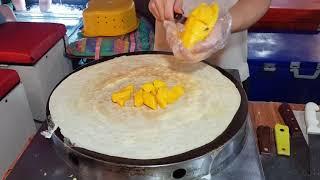Тайланд Технология приготовления тайских блинов с манго