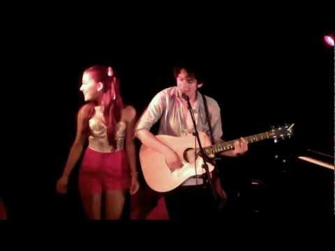 Matt Bennett & Ariana Grande Live  I Think You're Swell