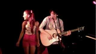 Matt Bennett & Ariana Grande Live - I Think You