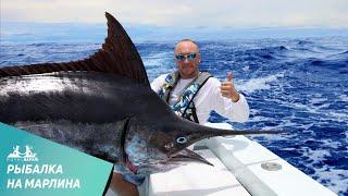 Трофейная рыбалка на марлина в Коста-Рике(http://royal-safari.com/blog/costa-risa/otchet-o-ryibalke-27-28-sentyabrya-2012/#0 После рыбалки в Коста-Рике и Никарагуа на тарпона мы с Сергеем..., 2013-10-21T13:27:27.000Z)