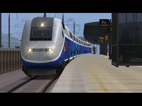 Train Simulator 2017 | Avignon to Marseilles Saint Charles | SNCF TGV Duplex