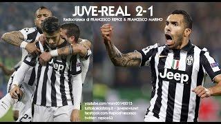 JUVENTUS-REAL MADRID 2-1 - Radiocronaca di Francesco Repice & Francesco Marino (5/5/2015) Radio Rai