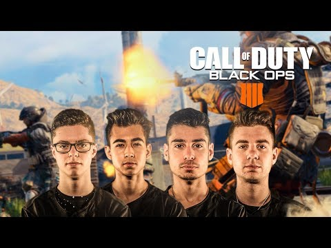 FaZe Pro Team play Blackout (Call of Duty Battle Royale)
