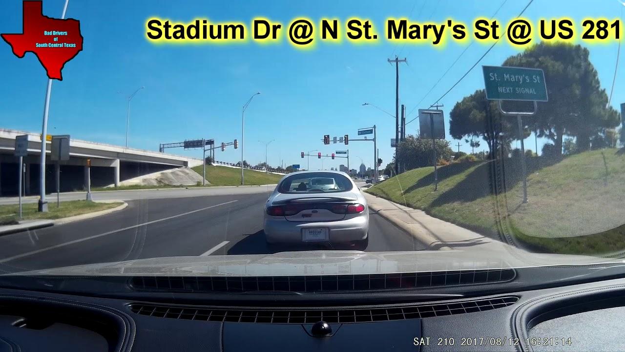 Car Accident In San Antonio Texas 8 12 2017 Youtube