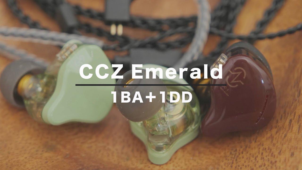 【中華イヤホン】CCZ Emeraldは1BA+1DDのハイブリッドだがCoffee Beanのインパクトに負けて微妙な感じ