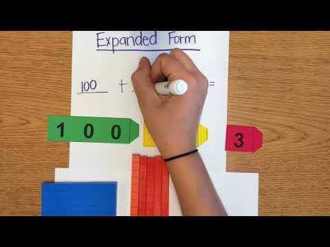 Expanded Form Arrow Cards