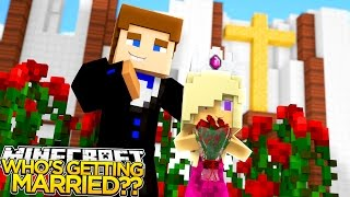who s getting married minecraft little donny baby leah adventures