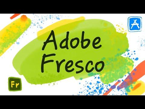 Adobe Fresco – новое крутое приложение для рисования на IPad