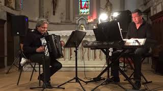 ALAIN MUSICHINI DUO 2015 (JS.BACH) CONCERTO N°2 en DOm (MVT1)