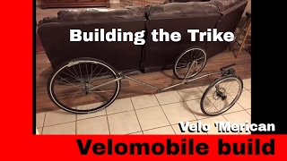 Velomobile Trike Frame build