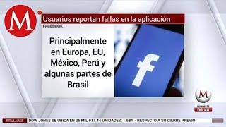 Facebook se cae... otra vez