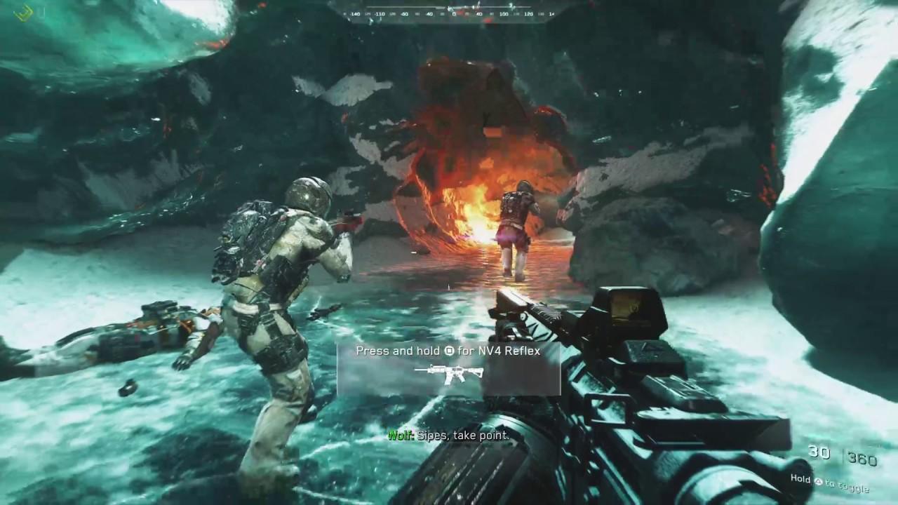 Cod Infinite Warfare Demo Ps4 Pro Youtube