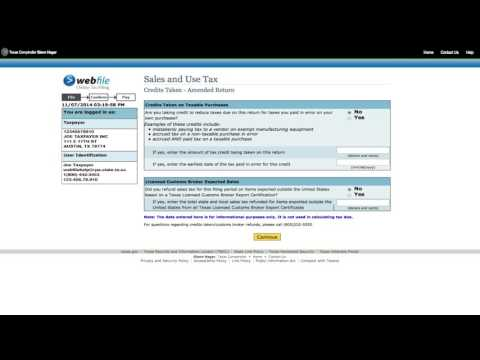 How To File An Amended Sales Tax Form [Official]
