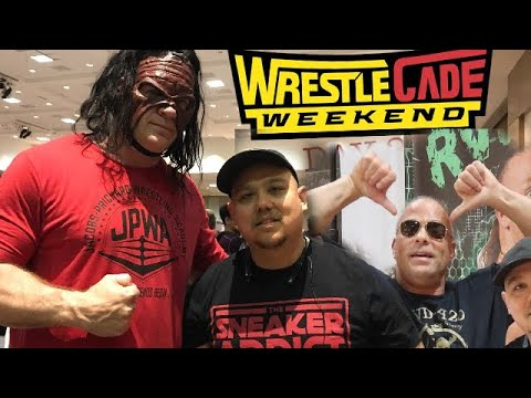 WRESTLECADE 2018 SUPERSHOW / FANFEST  DELZ VLOG! SUPERSTARS FROM WWE,ECW ,IMPACT,NJPW & MORE! DAY 2