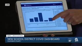 COVID-19 dashboard helps parents track confirmed cases in schools