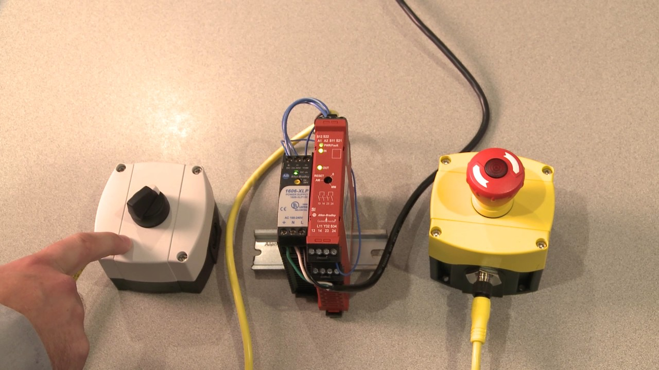 Troubleshooting a Wiring Fault with Rockwell Automation Guardmaster Safety Relays  YouTube