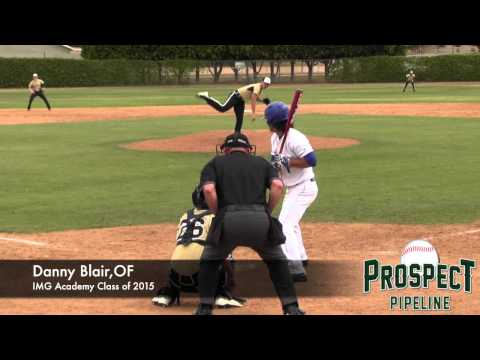 Danny Blair, OF, IMG Academy, Home Run at National Classic