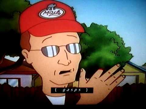 King Of The Hill - Hank Cut Off Dale Fingers