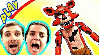 БолтушкА и ПРоХоДиМеЦ Увидели ФОКСИ в Игре про Мишку ФРЕДДИ! #287 Игра для Детей - 5 ночей с Фредди