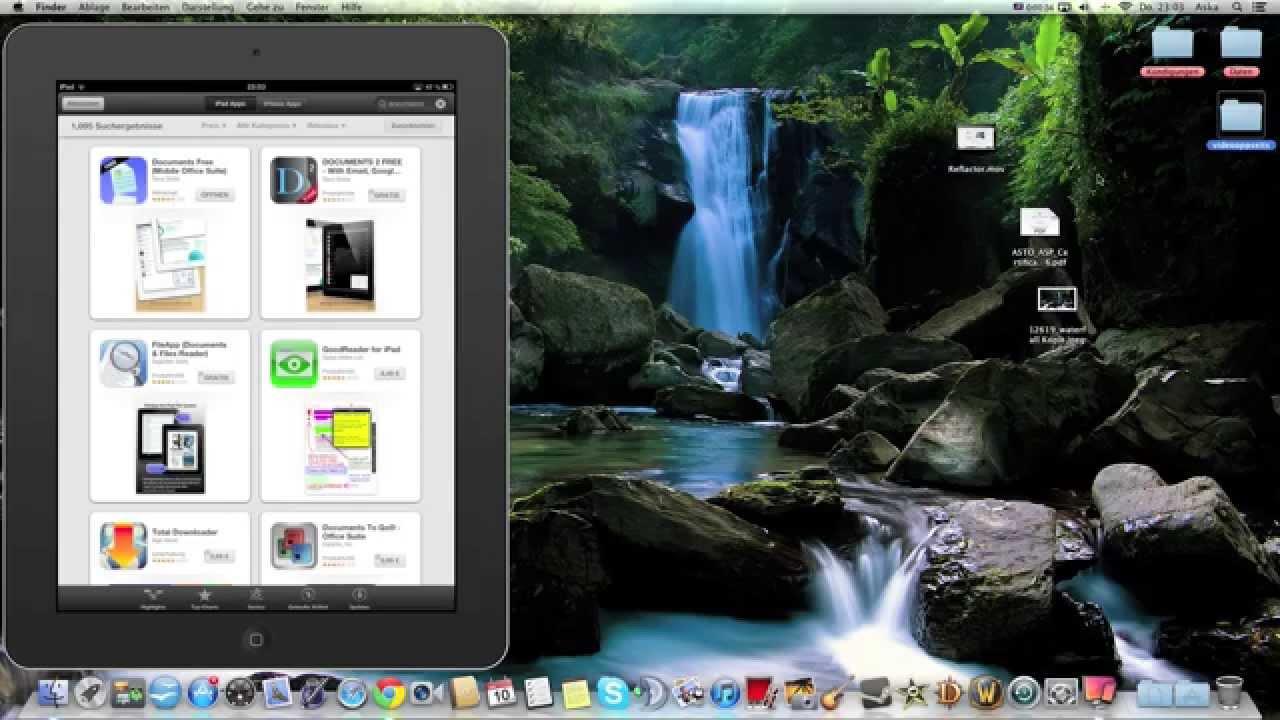 Datentausch Pc Mac Zu Ipad Iphone Ohne Kabel Ohne Itunes Theaskarum Youtube
