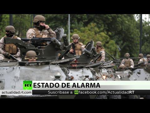 RT en Español: El Gobierno de Chile extiende el toque de queda por las protestas