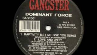 Dominant Force - Raptivity