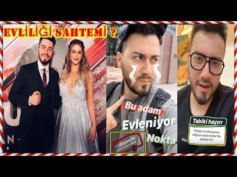 Enes Batur & Damla Aslanalp Evliliği Sahte Mi ? (Filmden Bir Sahne Mi?)