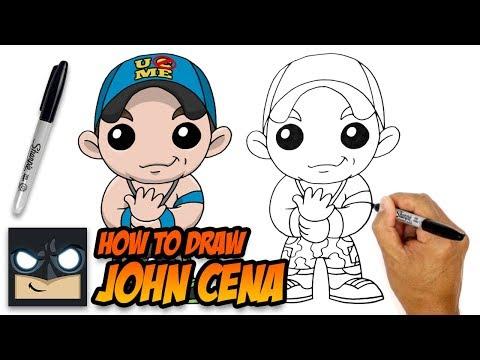 Как нарисовать джон сина