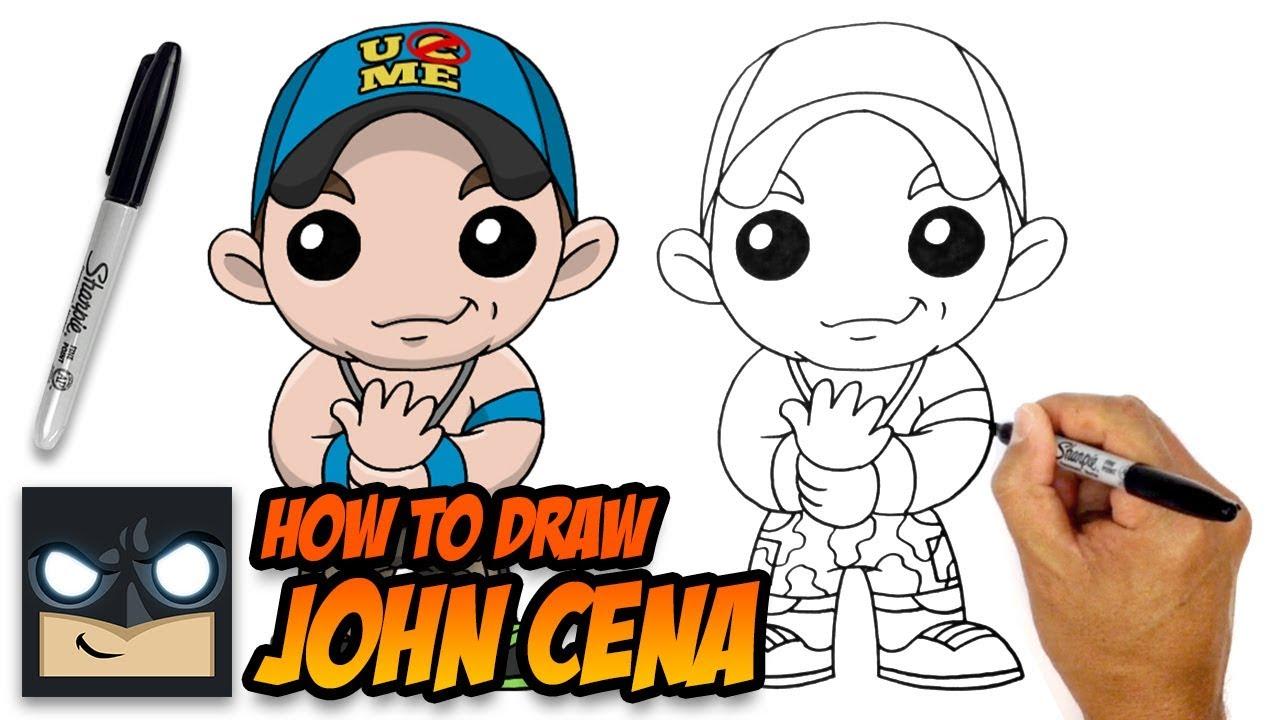 John Cena Drawing