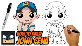 How to Draw John Cena | WWE