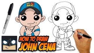 How Draw John Cena