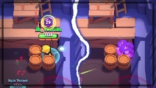 CROW STUCK GEMS STUCK GL TCH Gem Grab Glitch  Brawl Stars Gameplay